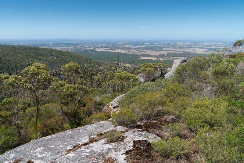 Parc national de Porongurup, Australie occidentale photographie stock libre de droits
