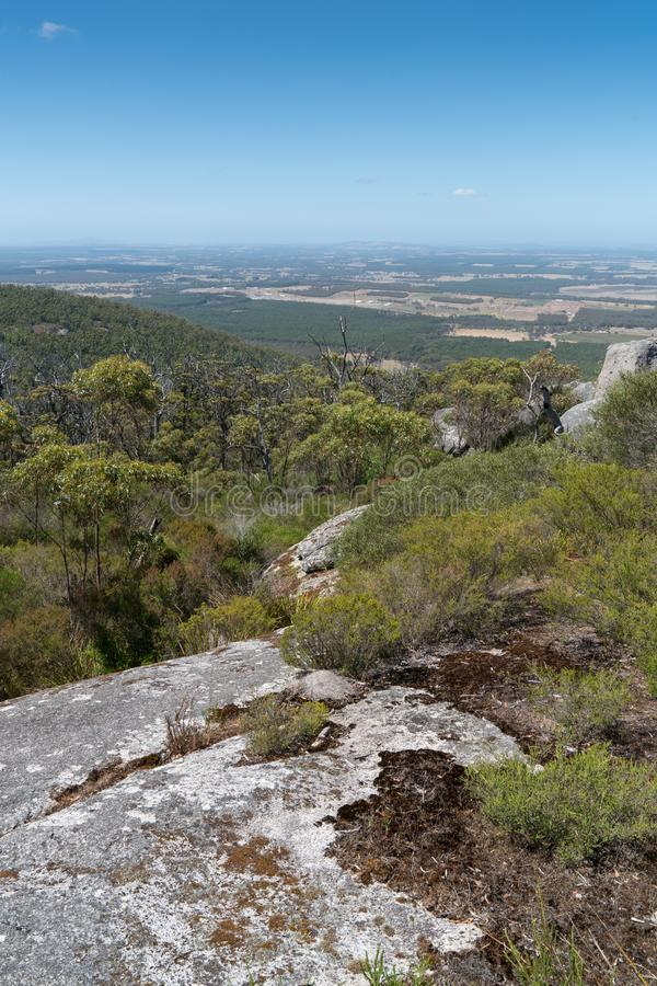 Parc national de Porongurup, Australie occidentale image stock