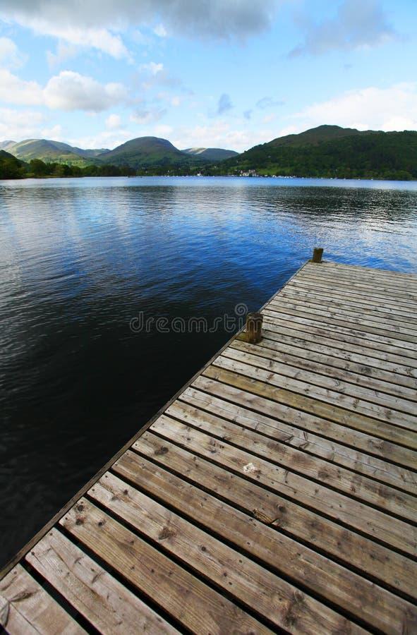 Parc national de secteur de lac image stock