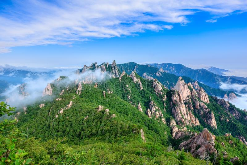 Parc national de Seoraksan photo libre de droits