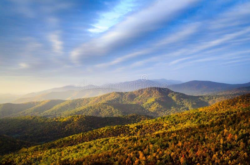 Parc national de Shenandoah image libre de droits