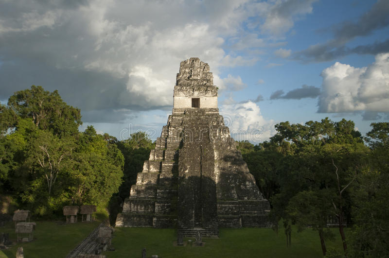Parc national de Tikal photo stock