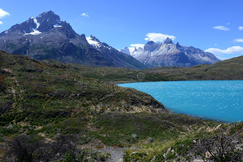 Parc national de Torres del Paine, Patagonia, Chili photographie stock libre de droits
