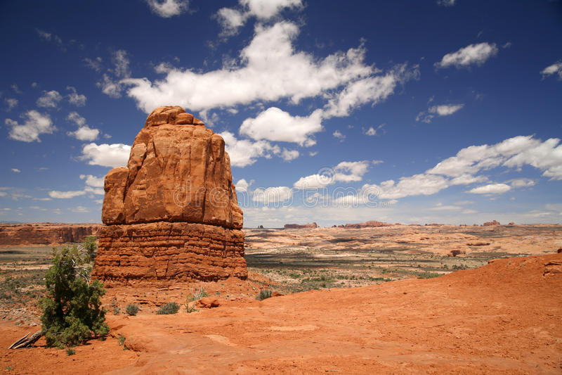 Parc national de voûtes en Utah, Etats-Unis image libre de droits