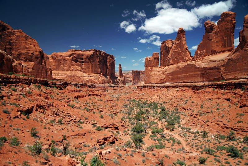 Parc national de voûtes en Utah, Etats-Unis photo stock