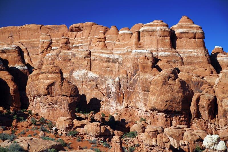 Parc national de voûtes en Utah, Etats-Unis image stock