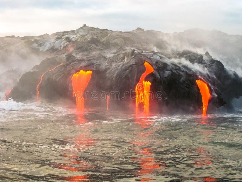 Parc national de volcans d'Hawaï photo libre de droits