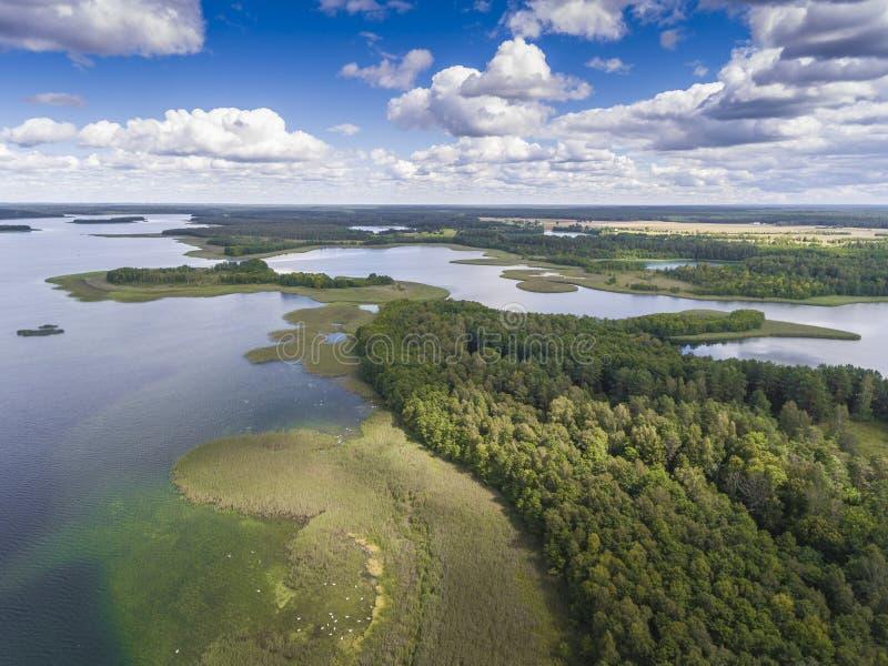 Download Parc National De Wigry De Lac Suwalszczyzna, Pologne L'eau Bleue Et Image stock - Image du déprimé, horizontal: 76085585