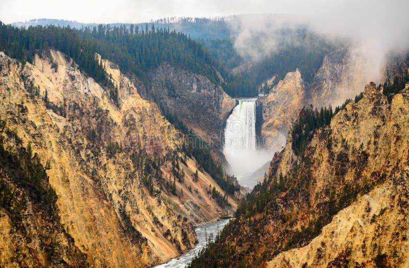 Parc national de Yellowstone images libres de droits