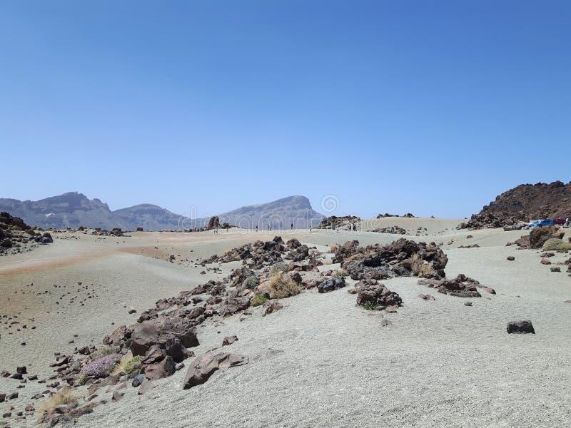 Parc National del Teide fotografía de archivo libre de regalías