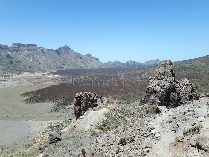 Parc National del Teide imagenes de archivo