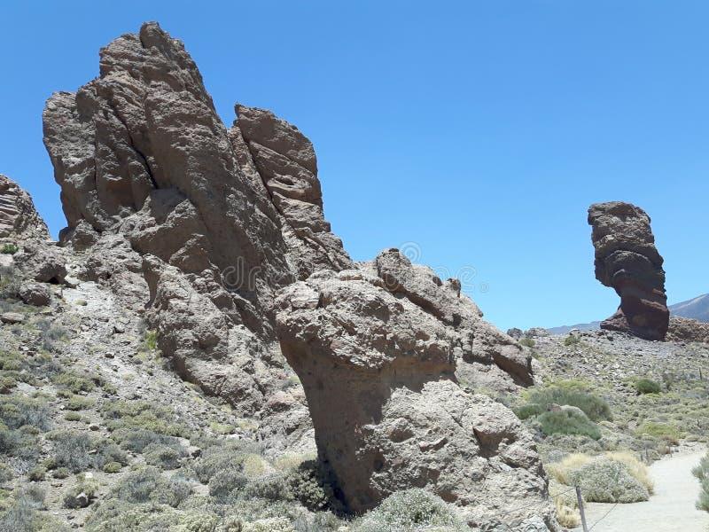 Parc National del Teide foto de archivo