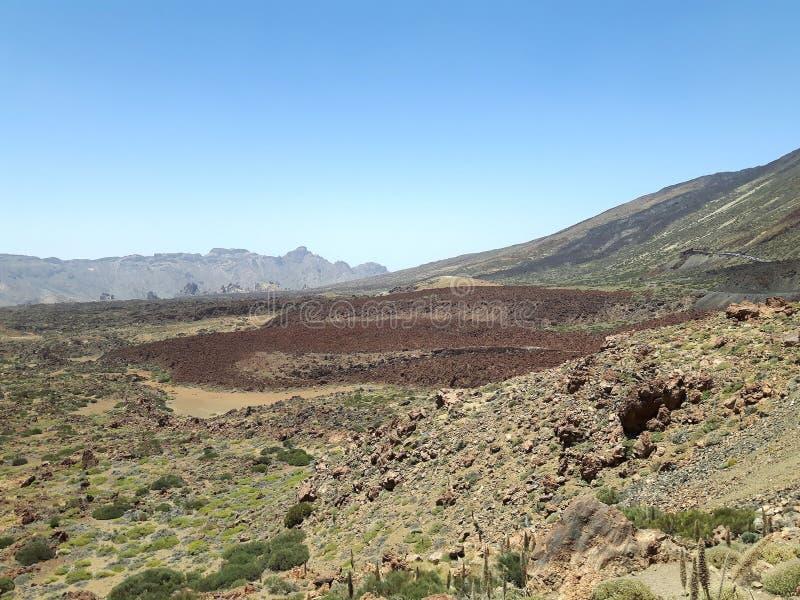 Parc National del Teide imagen de archivo libre de regalías