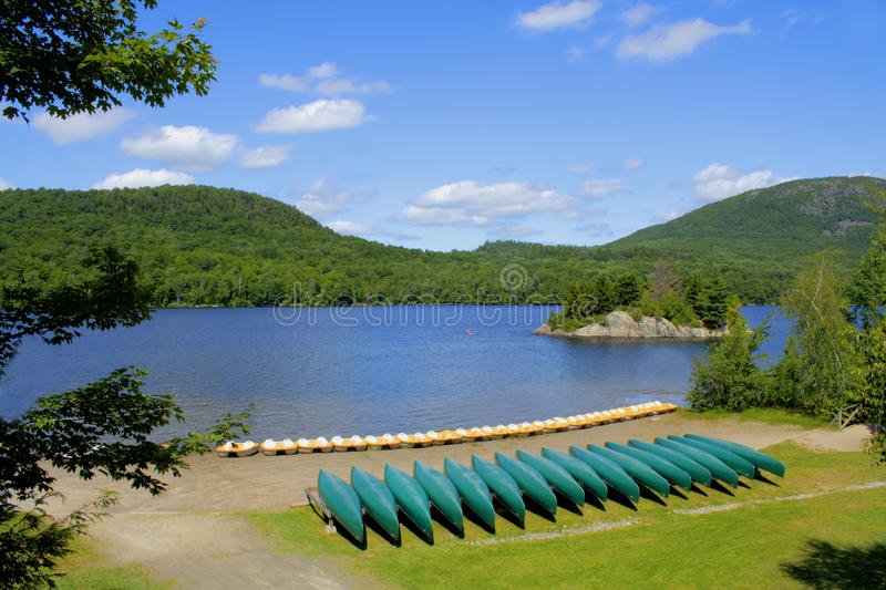 Parc national du Mont-Orford. stock photography