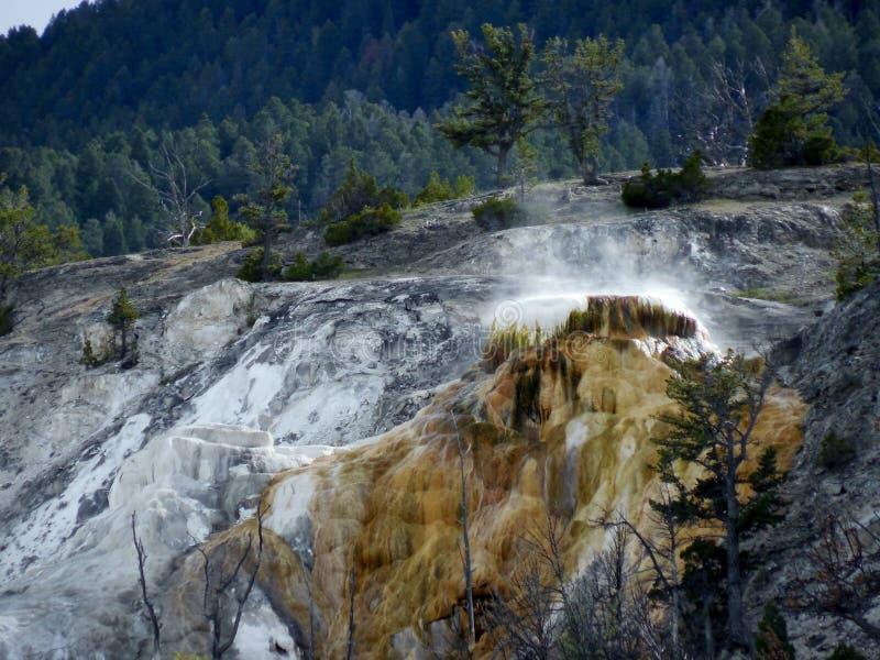 Parc national en pierre jaune image stock