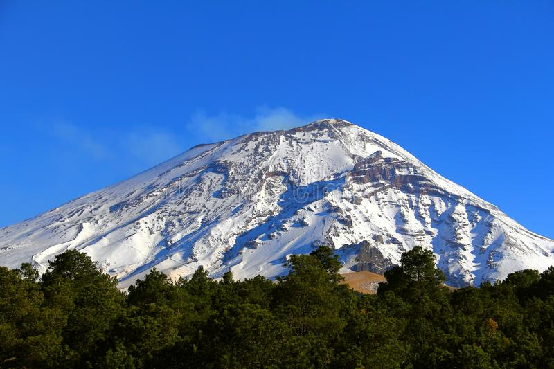 Parc national II de Popocatepetl photos stock