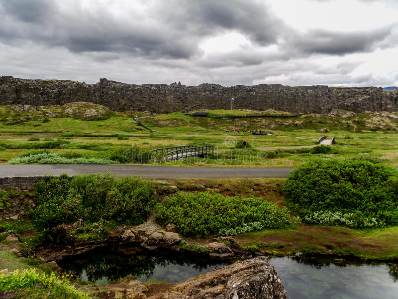 Parc national Islande photographie stock libre de droits