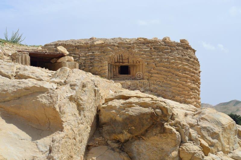 Parc national Israël de couillon d'Ein images stock