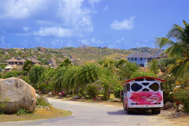 Parc national les bains dans Virgin Gorda, les Caraïbe photos stock