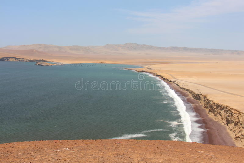 Parc national Paracas peru photographie stock libre de droits