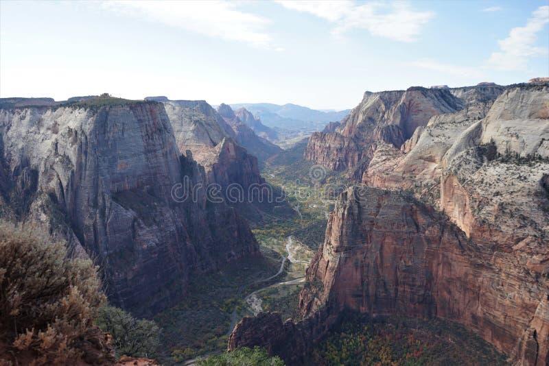 Parc national Utah, Etats-Unis de Zion image libre de droits