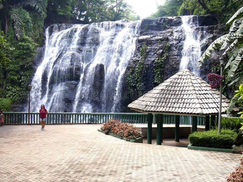 Parc naturel de Hinulugang Taktak dans la ville d'Antipolo de route de Taktak, Philippines photo stock