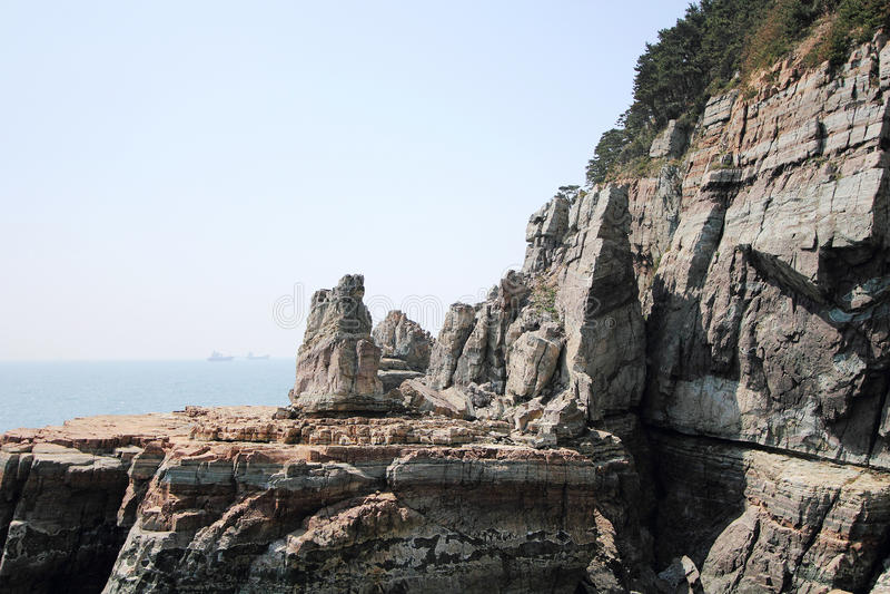 Parc naturel de Taejongdae à Busan photo libre de droits