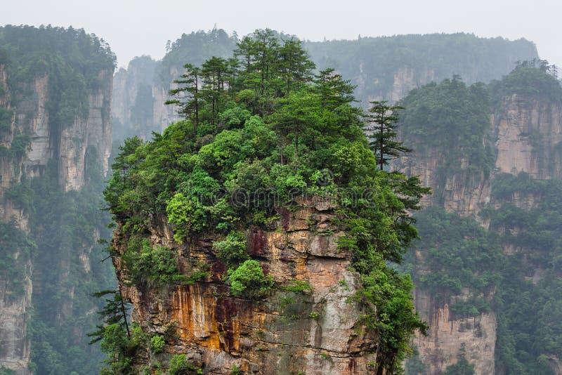 Parc naturel des montagnes Tianzi Avatar - Wulingyuan China images stock
