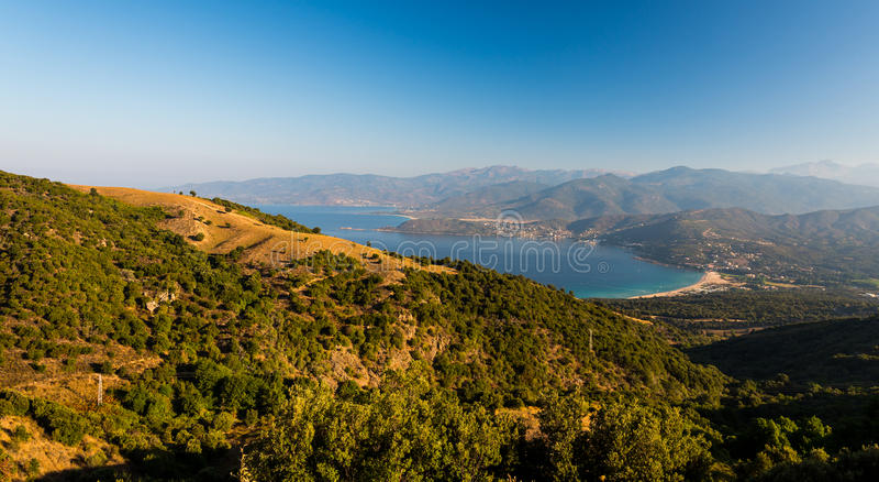 Parc naturel national de la Corse Scandola photos stock