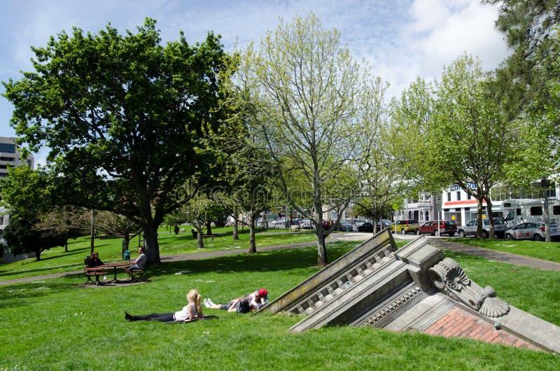 Parc occidental dans Ponsonby, Auckland Nouvelle-Zélande NZ NZL photos stock