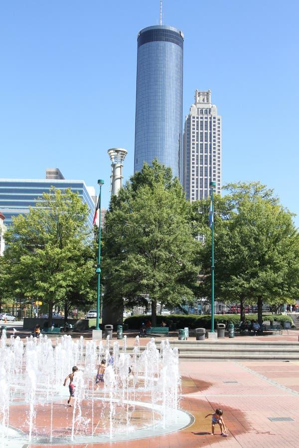 Parc olympique centennal, Atlanta, GA photos stock