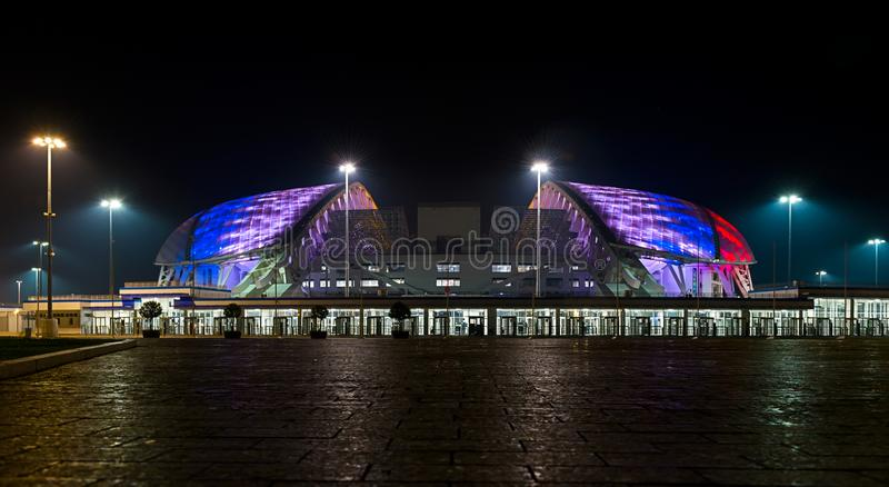 Parc olympique dans le secteur d'Adlersky, région de Krasnodar images stock