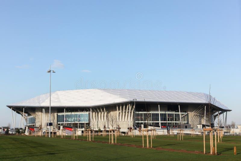 Parc Olympique stadium w Lion, Francja zdjęcie stock
