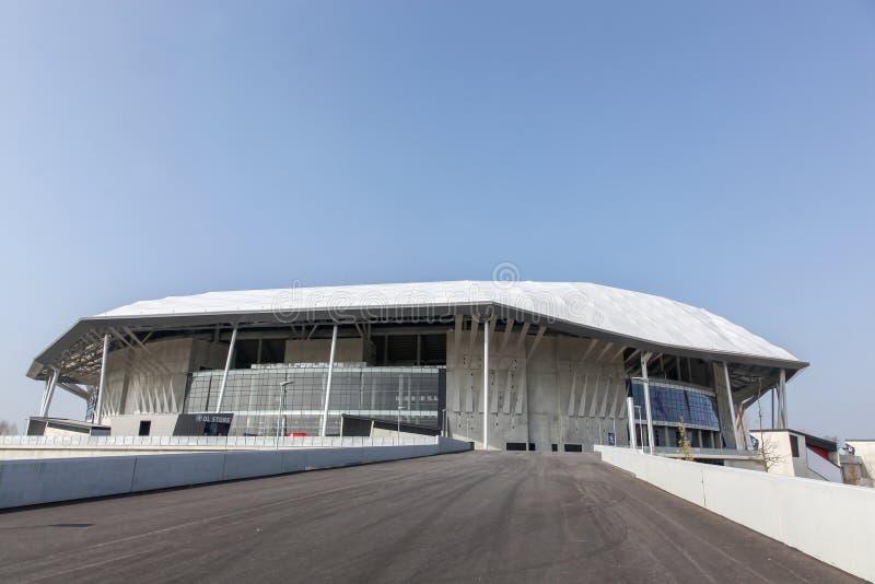 Parc Olympique stadium w Lion, Francja obrazy stock