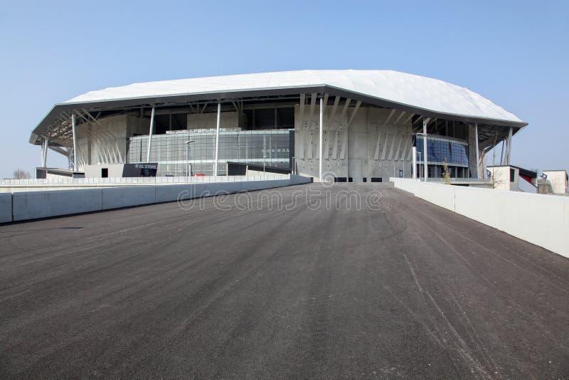 Parc Olympique stadium w Lion, Francja zdjęcie royalty free