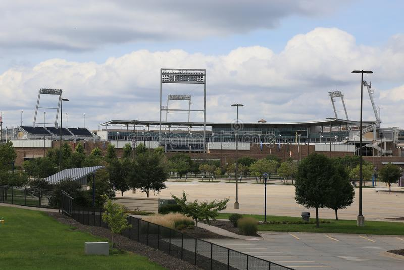 Parc Omaha Nebraska Etats-Unis de TDAmeritrade photo stock