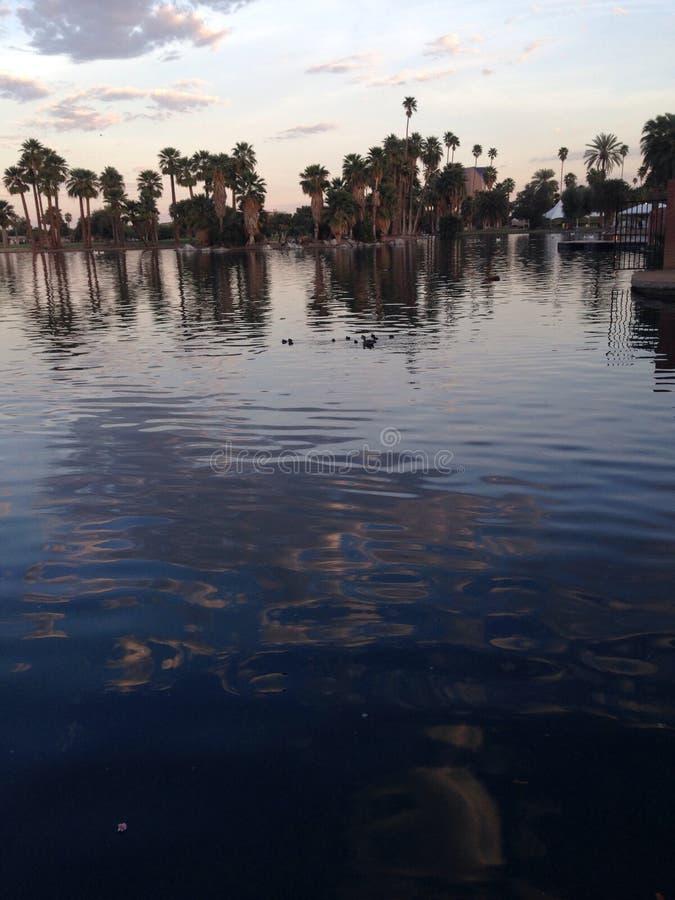 Parc Phoenix Arizona d'Encanto photographie stock libre de droits