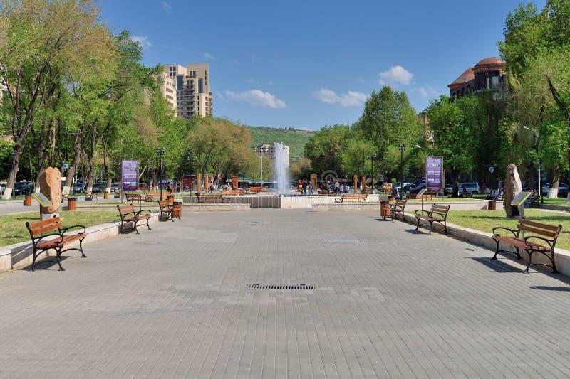 Parc près d'Erevan Vernissage images libres de droits