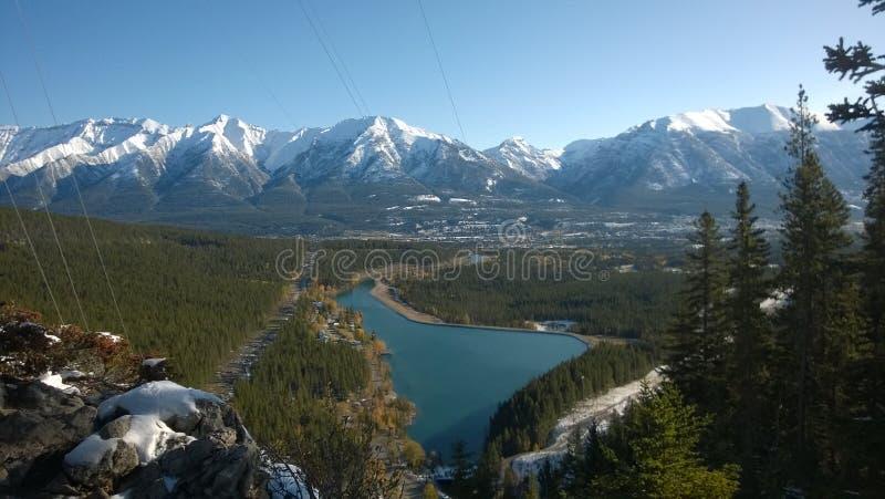 Parc provincial de Bow Valley Par Canmore, Alberta, Canada photo stock