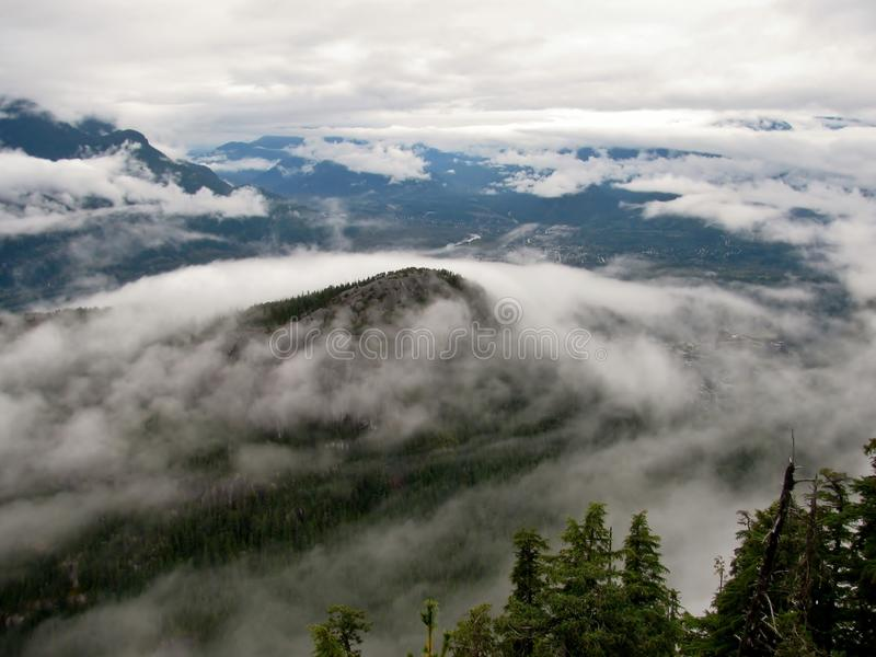 Parc provincial en chef de Stawamus, Squamish, AVANT JÉSUS CHRIST, Canada photographie stock