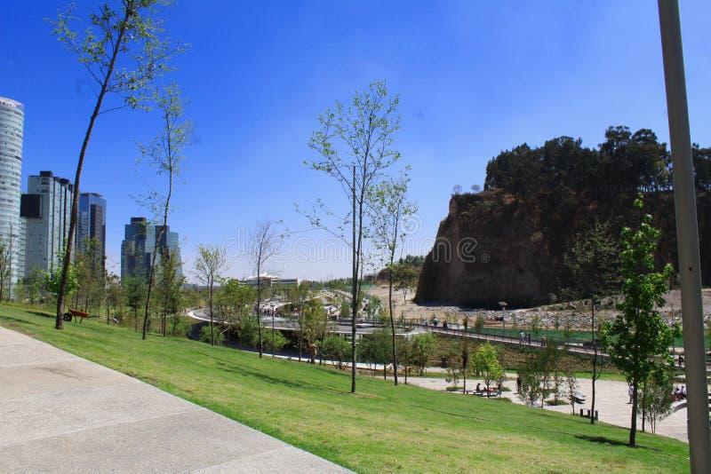 Parc, public et espaces libres de Mexico images libres de droits