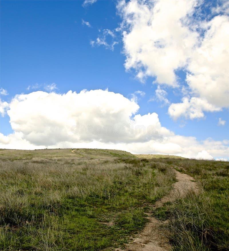 Parc régional Moorpark la Californie de canyon heureux de camp photos libres de droits