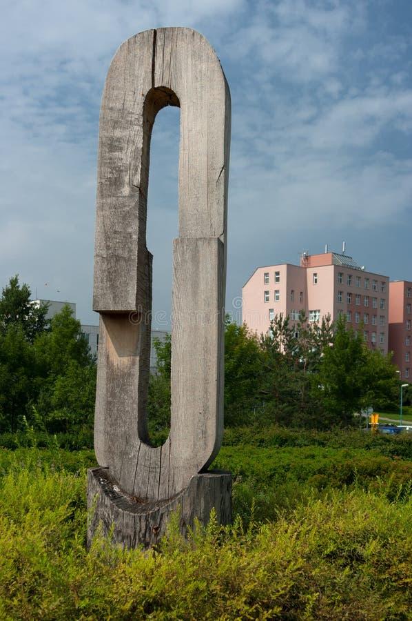 Parc urbain mal maintenu images libres de droits