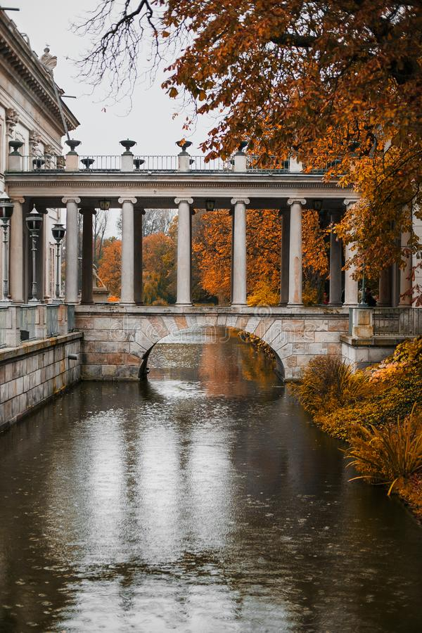 Parc Varsovie Pologne de Lazienki images libres de droits
