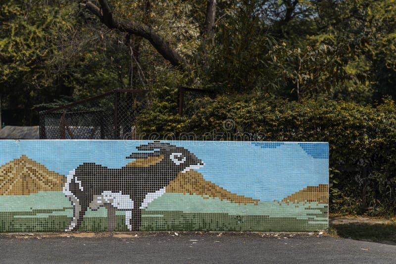 Parc zoologique de Delhi photos stock