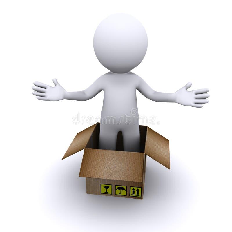 Parcel Delivery Concept Stock Photos