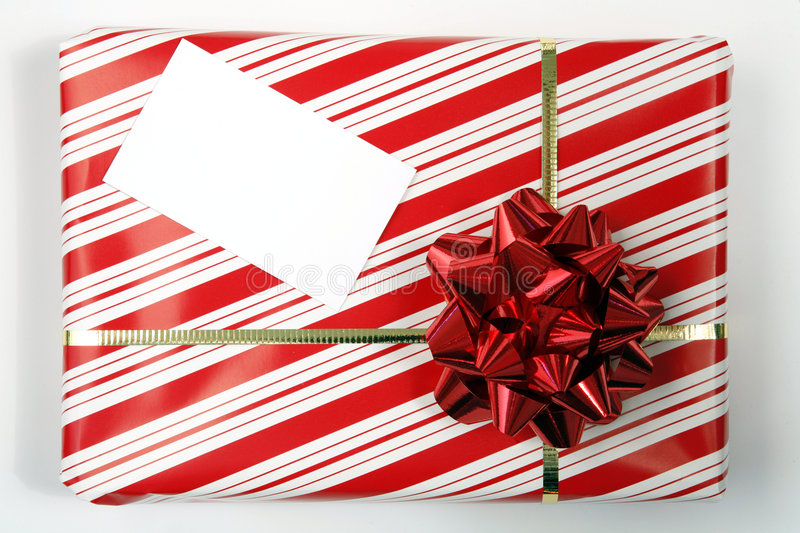 Download Parcel with tag stock image. Image of birthday, shopping - 1117361