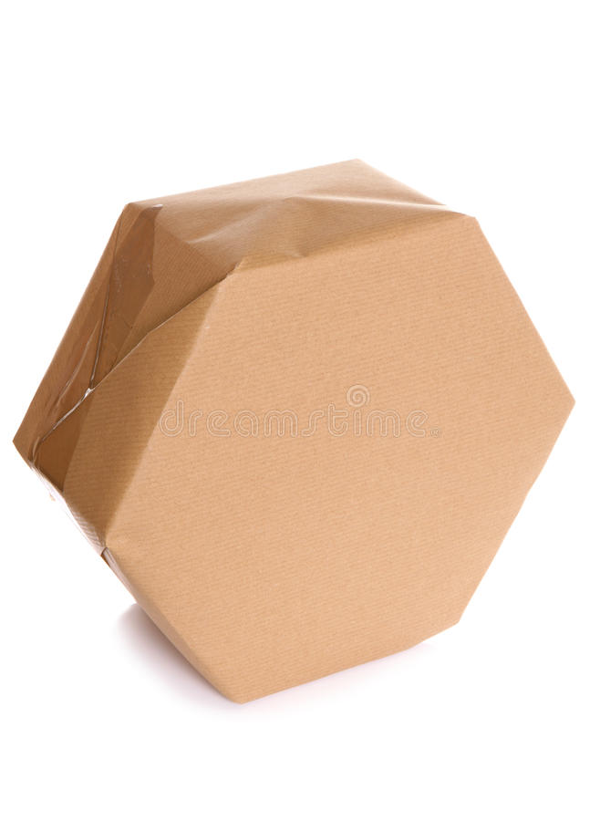 Download Parcel Wrapped In Brown Paper Stock Image - Image: 22133781