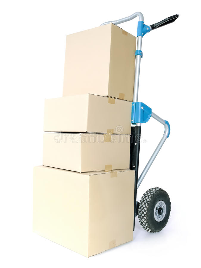 Download Parcels stock image. Image of moving, container, delivery - 24314349