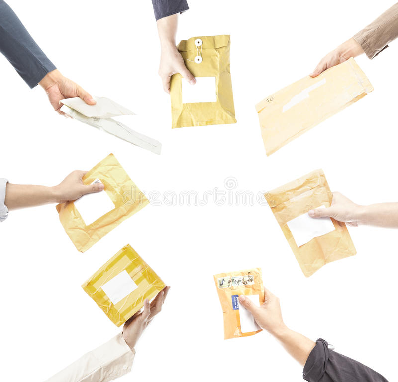 Free Parcels Royalty Free Stock Image - 53563246